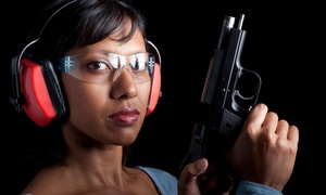 Parabellum Firearms: Shooting-Range Package for Two or a Ladies' Class for One or Two at Parabellum Firearms (Up to 53% Off)