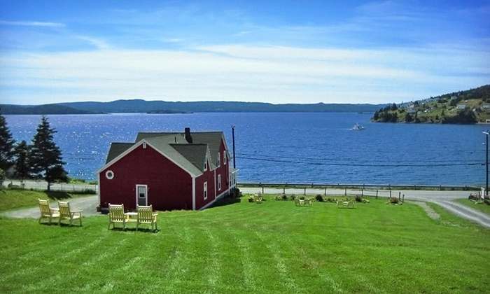 Inn By The Bay - Dildo: C$74 for a One-Night Stay for Two with C$25 Dinner Voucher at Inn By The Bay in Dildo, NL (Up to C$154 Value)