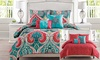 Casablanca Reversible Comforter Set: Casablanca Reversible Comforter Set