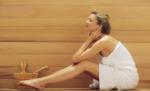 MD Custom Rx: Three, Five, or Nine 30-Minute Infrared-Sauna Sessions at MD Custom Rx (Up to 68% Off)