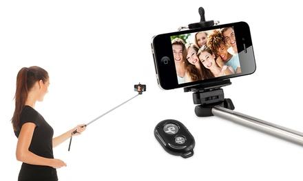 Selfie afstandsbediening en stick