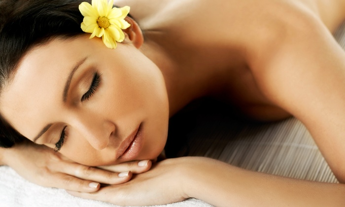 The 212 Salon - Pleasant Hill: $59 for a Spa Package with Massage, Spa Mani-Pedi, and Facial at The 212 Salon ($120 Value)