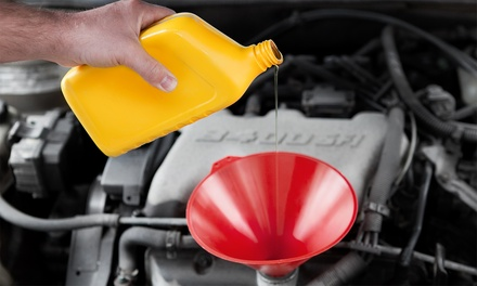 One Synthetic-Blend Oil Change with Option for Brake Service at Tire Liquidators (Up to 65% Off)