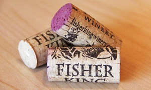 Fisher King Winery: Wine Tasting for Two or Four with Bottles of Take-Home Wine at Fisher King Winery (Up to 39% Off)