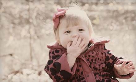 Outdoor Photo Shoot with Option for CD of Images from Photos by Lillie (Up to 72% Off)