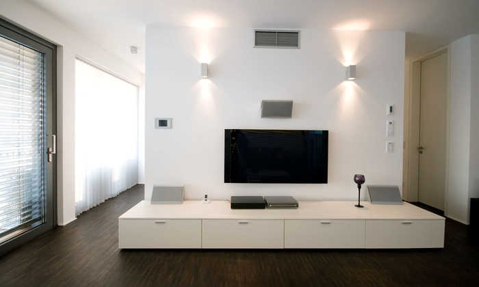 Amagia AV - Maywood: Home Installation for Two or Four Speakers or 5.1 Surround-Sound Speakers from Amagia AV (Up to 56% Off)