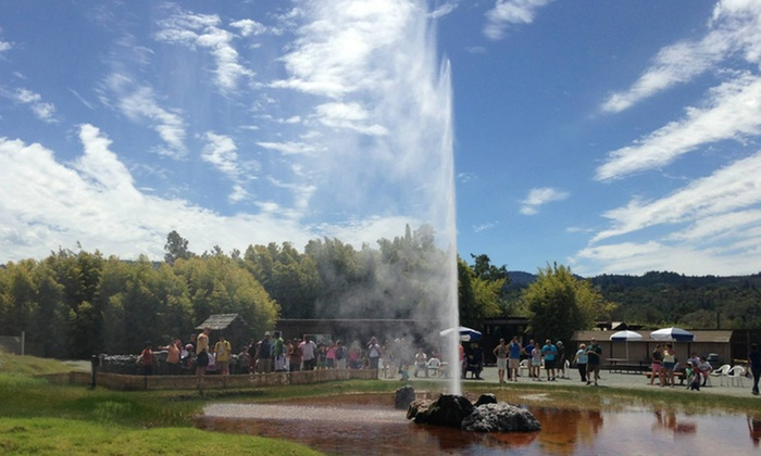 Old Faithful Geyser of California - Calistoga: Visit for Two or Four to Old Faithful Geyser of California (Up to 48% Off)