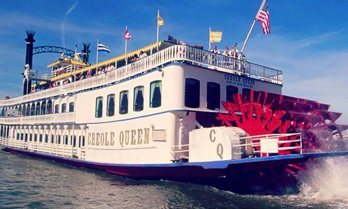 Paddlewheeler Creole Queen - Central Business District: Chalmette Battlefield Cruise for One or Two on the Paddlewheeler Creole Queen (Up to 54% Off)