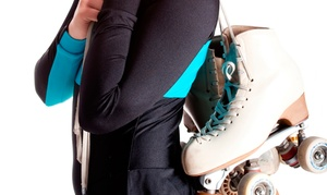 Skateland: Roller-Skating Packages with Pizza and Drinks at Skateland (Up to 52% Off). Six Options Available.