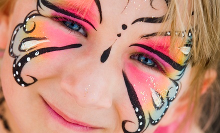 $45 for Two Hours of Face-Painting Services from Miss Twist the Balloonatic ($130 Value)