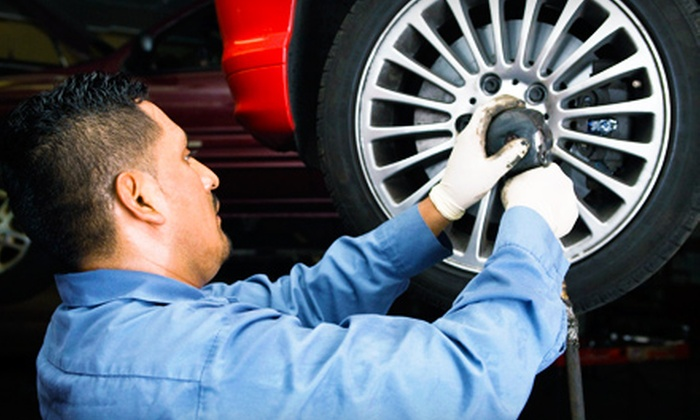Meineke Car Care Center - Multiple Locations: $39 for Three Oil Changes and Seasonal Inspections at Meineke Car Care Center (Up to $179.75 Value)
