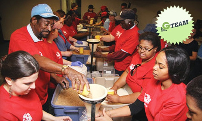 Stop Hunger Now - Charlotte: If 35 People Donate $8, Then Stop Hunger Now Charlotte Can Prepare 1,120 Emergency Relief Meals for an Overseas Community