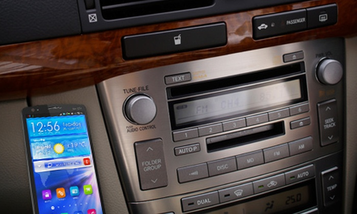 Xtreme Auto Soundz - West Adams: Smart Phone or MP3 Car Stereo Integration for Domestic or Luxury Cars at Xtreme Auto Soundz (Up to 63% Off)