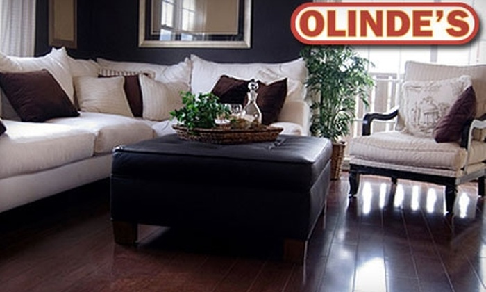 Olinde's Furniture - Multiple Locations: $25 for $100 Worth of Furniture at Olinde's Furniture. Choose Between Two Locations.