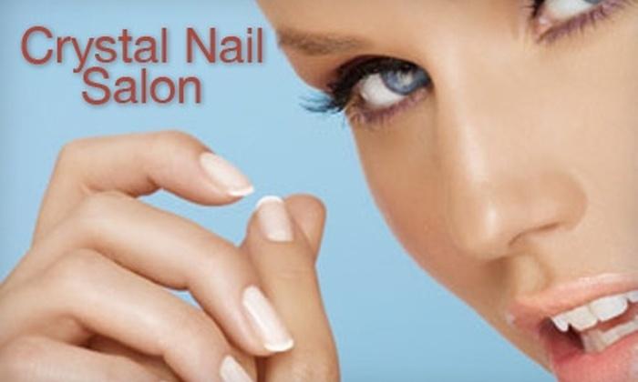 Crystal Nail Salon - Near North Side: $28 for an Aqua Spa Mani-Pedi from Crystal Nail Salon