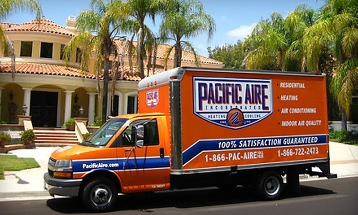 Pacific Aire, Inc. - Orange County: $50 for Complete Precision Home AC Tune-Up and Cleaning from Pacific Aire, Inc.