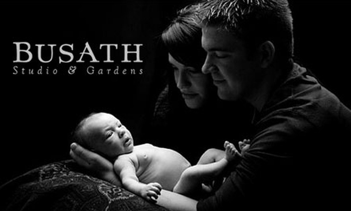 """Busath Photography - Greater Avenues: $49 Professional Photography Session and one 11""""x14"""" Print or 25 5""""x7"""" Christmas Cards from Busath Photography (Up to $294 Value)"""