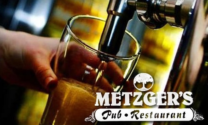 Metzger's Pub - West Seneca: $7 for $15 Worth of Pub Grub and Drinks at Metzger's Pub in West Seneca