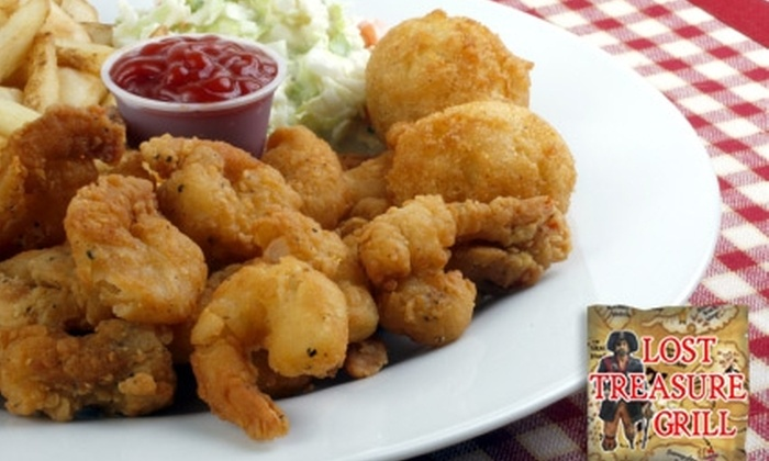 Lost Treasure Grill - Southwest Pensacola: $12 for $25 Toward Dinner at Lost Treasure Grill