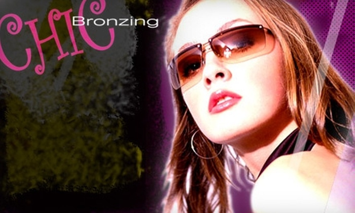 Chic Bronzing - I-70 Corridor: $16 for One Airbrush Tan Plus Color Booster or Scent at Chic Bronzing (Up to $33 Value)