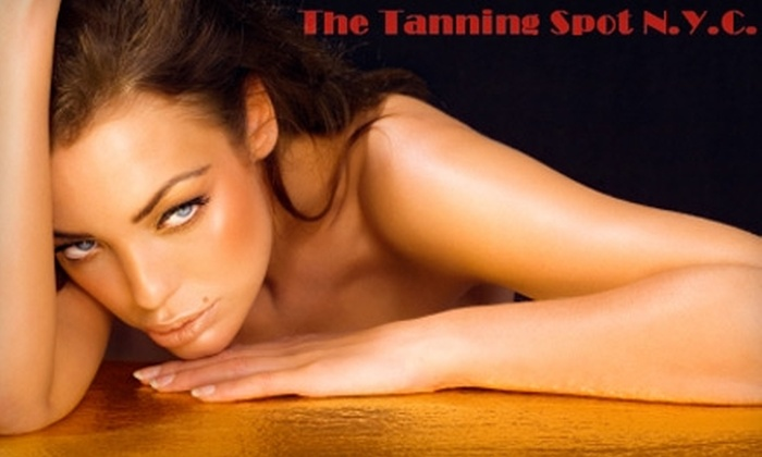 The Tanning Spot NYC - Kips Bay: $25 for One Month of Unlimited Tanning or One Airbrush Tan at The Tanning Spot NYC