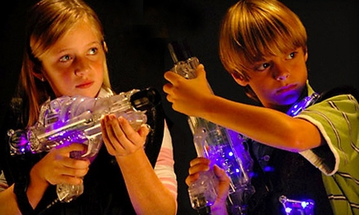 Fun Junction - Multiple Locations: $21 for Four Games of Laser Tag and a $10 Fun Card at The Fun Junction (Up to $42 Value)