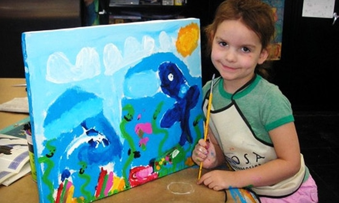 Art for Fun! Studio and Gallery - Phoenix: $40 for Two Summer Art-Camp Classes for Kids at Art for Fun! Studio and Gallery ($80 Value)
