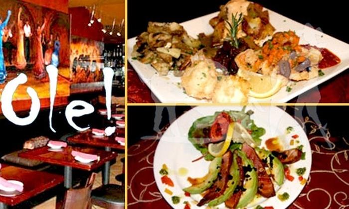 Olé! Tapas Bar - Studio City: $15 for $30 Worth of Spanish Cuisine at Olé! Tapas Bar