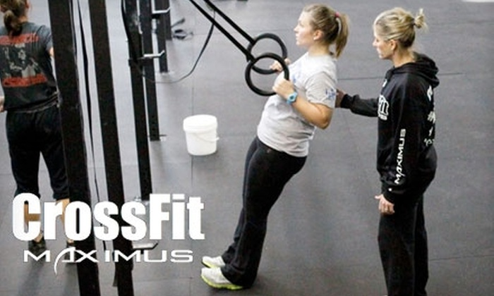 CrossFit Maximus - Lexington-Fayette: $99 for a Health and Wellness Makeover Including One Massage, One Personal-Training Session and Six-Week Membership at CrossFit Maximus