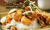 Maurya Bistro - Mill Lake: $15 for $30 Worth of Asian Fusion and Drinks at Slice Tiger Restaurant