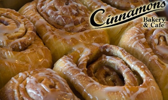 Cinnamons Bakery & Café - St. Johns: Fresh-Baked Treats at Cinnamons Bakery. Choose From Three Options (Up to $26.95 Value).