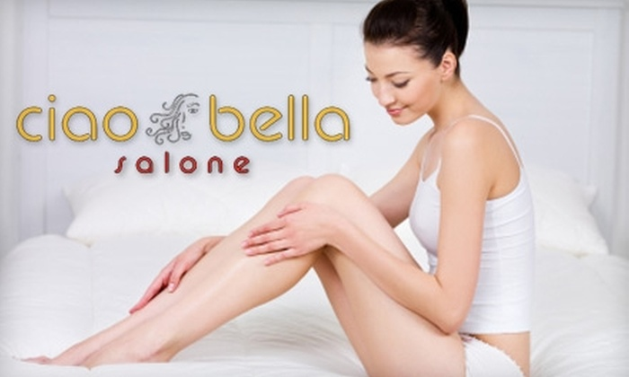 Ciao Bella Salone - East Longmeadow: Hair and Body Services at Ciao Bella Salone. Choose from Three Options.