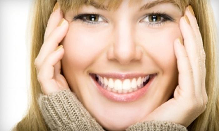 Sunrise Dental - Multiple Locations: $49 for Exam, X-rays, and Whitening Treatments at Sunrise Dental