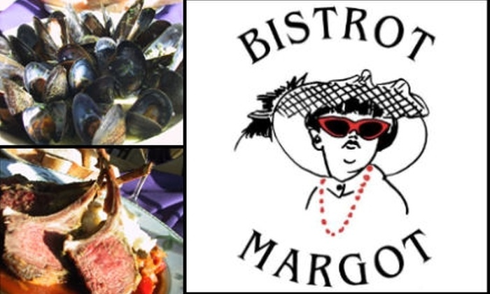 Bistrot Margot - Near North Side: $20 for $40 Worth of Traditional French Dining at Bistrot Margot