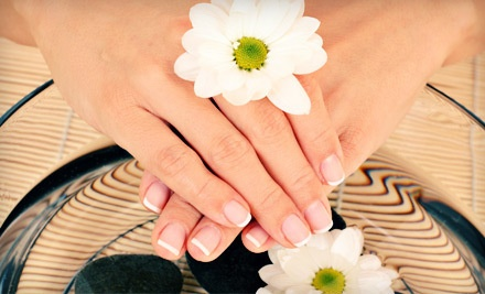 $55 Groupon to Blush A Nail Boutique   - Blush A Nail Boutique in Auburn