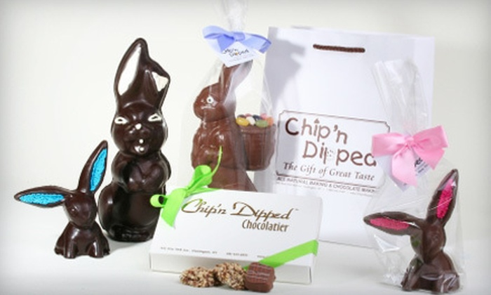 Chip'n Dipped - Huntington: $8 for $16 Worth of Chocolates and Candies at Chip'n Dipped in Huntington