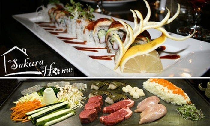 Sakura Home Japanese Restaurant - Brighton: $15 for $30 Worth of Sushi, Hibachi Fare, and More at Sakura Home Japanese Restaurant