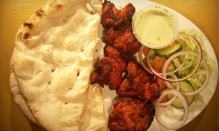 Mogul Divaan - Mount Royal: $7 for $15 Worth of Indian and Pakistani Fare and Drinks at Mogul Divaan