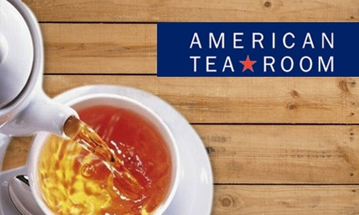 """American Tea Room - Beverly Hills: $15 for $30 Toward a """"Tea-vent"""" at American Tea Room in Beverly Hills"""