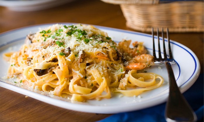 Luna Rossa Italian Grill - Fort Myers / Cape Coral: $20 for $40 Worth of Authentic Italian Cuisine and Drinks at Luna Rossa Italian Grill
