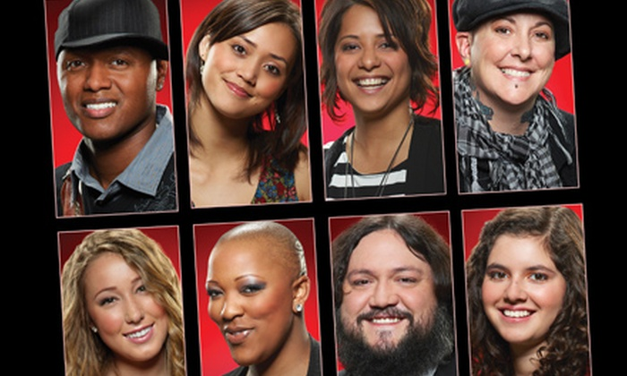 """""""The Voice Live On Tour"""" - Wallingford: One Ticket to """"The Voice Live On Tour"""" at Toyota Presents Oakdale Theatre in Wallingford on August 5 at 8 p.m."""