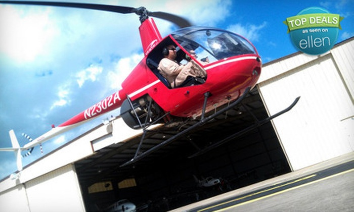 Vertex Helicopters - Greater Hobby Area: $139 for a Hands-On Helicopter Lesson from Vertex Helicopters ($280 Value)