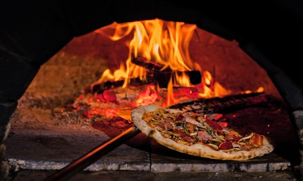 $25 for Two Woodfired Pizzas, or $35 to Include Two Drinks at The Cove, Mission Bay (Up to $66 Value)