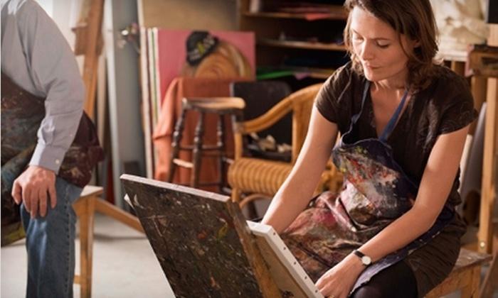 Uncork'd Art - Southwest Employment Area: $25 for an Art Class at Uncork'd Art (Up to $50 Value)