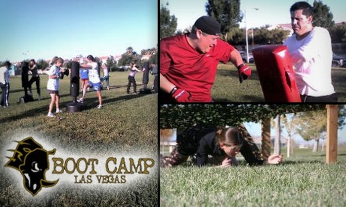Boot Camp Las Vegas - Multiple Locations: $29 for a 20-Class Pass to Boot Camp Las Vegas ($380 Value)