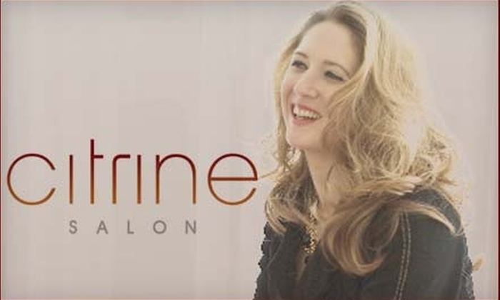 Citrine Salon - Raleigh / Durham: $75 for A Series of Four Grape Wine Peels or Papaya Enzyme Peels at Citrine Salon ($187 Value)