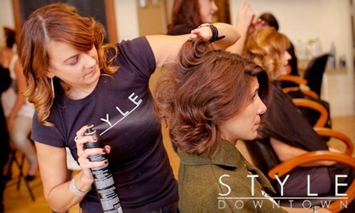 Style Downtown - Downtown: $25 for $50 Worth of Salon Services at Style Downtown
