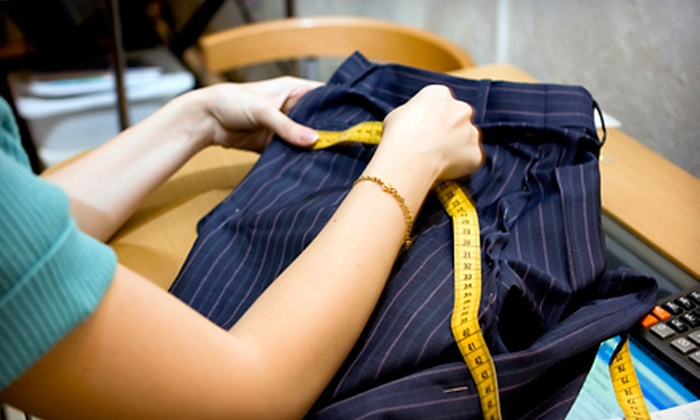 Metropolis Alterations - Maywood: $10 for $20 Worth of Alteration Services at Metropolis Alterations in Burnaby