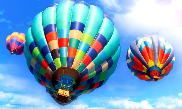 Sun Ballooning - Kyritz: Wertgutschein über 120 € anrechenbar auf ein 3- bis 4-stündiges Ballonevent von Sun Ballooning für 59 €