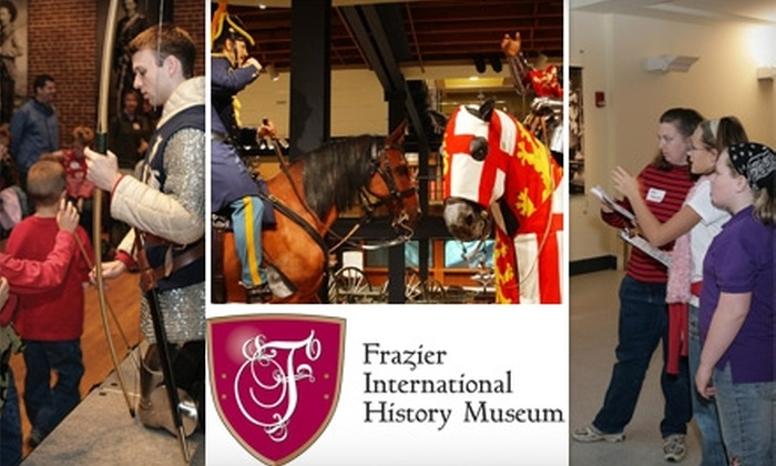 Frazier International History Museum - Central Business District: $30 Family or Grandparents Membership to Frazier International History Museum